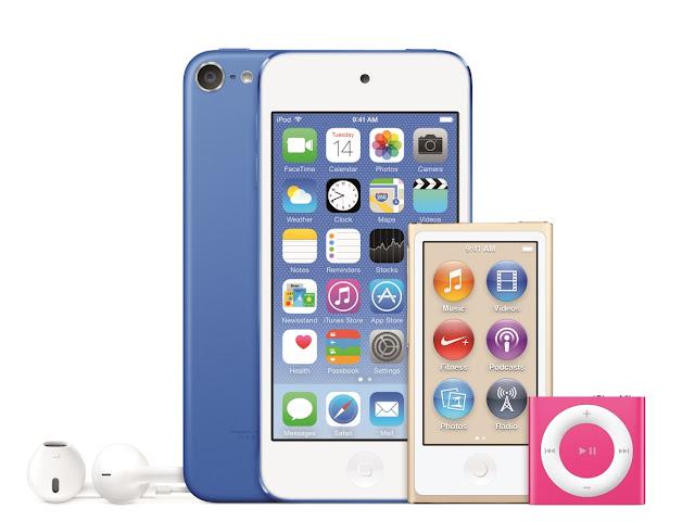 ipod touch ipod shuffle ipod nano