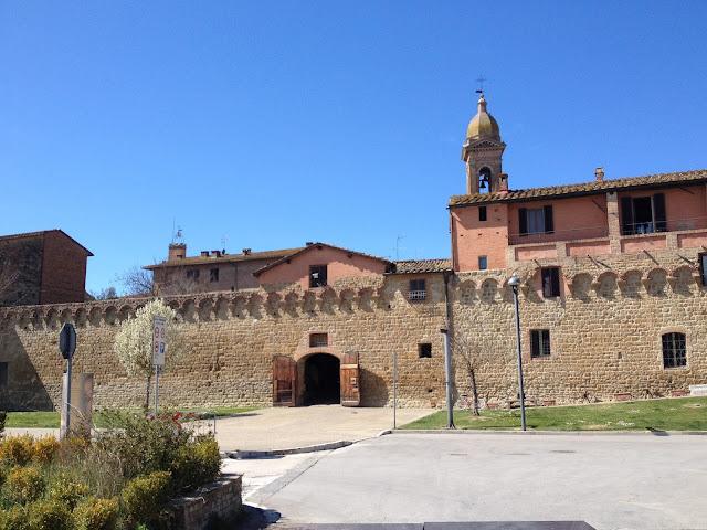 Buonconvento en la Toscana