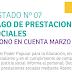 LISTADO Nº 07 PAGO DE PRESTACIONES SOCIALES ABONO EN CUENTA MARZO 2018