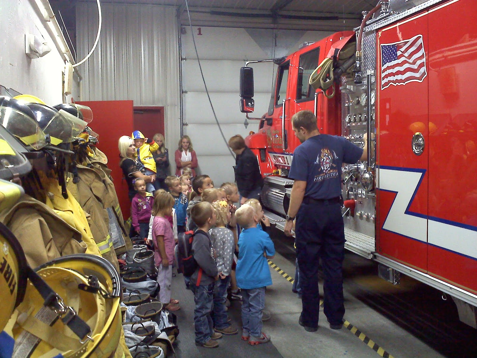 Life Is Good Preschool Field Trip To Fire Station