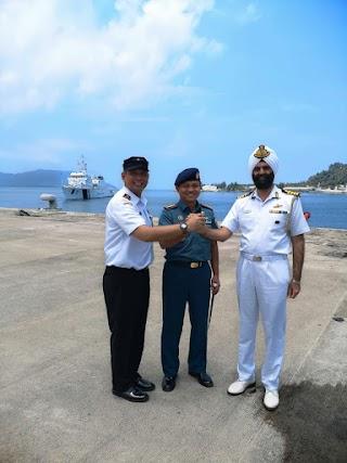 Kepala SPKKL Aceh Bakamla Antar Kepulangan Kapal Vijit