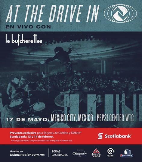 At the Drive-In viene a México por primera vez