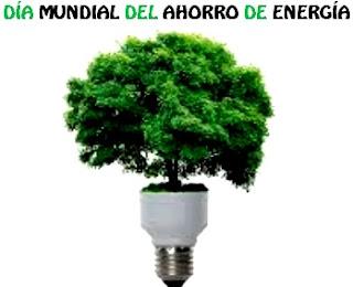 Ilustración por el Día Mundial del Ahorro de Energía a colores