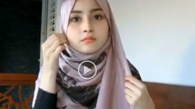 Tutorial Hijab Simple