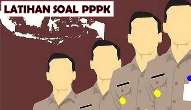 Contoh Soal PPPK 2019 PDF dan Pembahasan