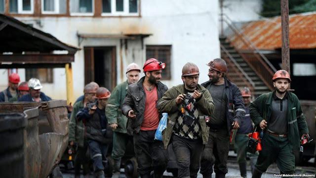 Mueren cuatro mineros por explosión en Georgia