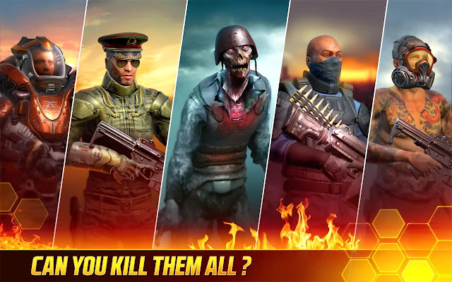 Kill Shot Bravo APK MOD Unlimited Money + No Reload