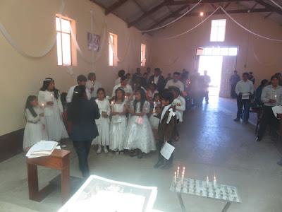 Tauferneuerung der Erstkommunion Kinder