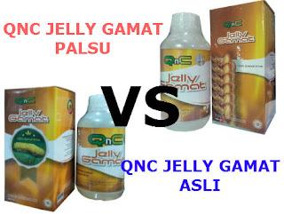qnc jelly gamat asli dan palsu