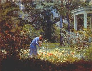 Winifred at the Hermitage  - Джон Оттис Адамс  John Ottis Adams