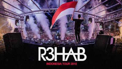 R3hab Indonesia Tour 2018