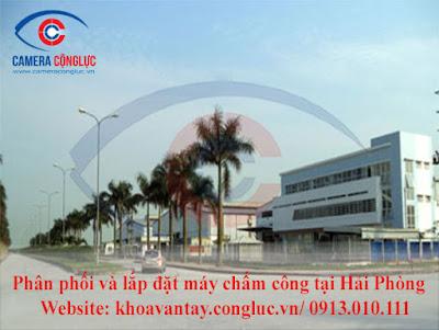 Cung cấp và lắp đặt máy chấm công chất lượng tốt, giá rẻ cho các doanh nghiệp tại KCN Tràng Duệ