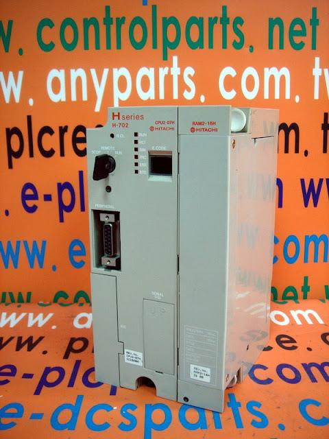 HITACHI H-SERIES H-702 CPU MODULE CPU2-07H RAM2-16H