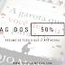 TAG dos 50%