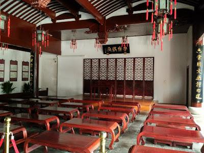 interior templo confucio shanghai
