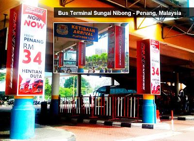 Professional Signage maker in Penang - Pillar Sign