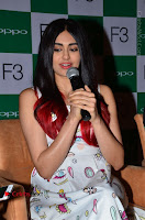 Bollywood Actress Adah Sharma Pos in White Printed Short Dress at OPPO F3 Plus Selfie Expert Mobile Launch .COM 0059.jpg