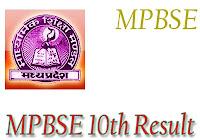 MPBSE 10 वीं परिणाम 2018