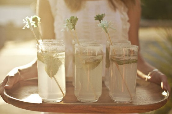DIY drink stirs for your wedding cocktails