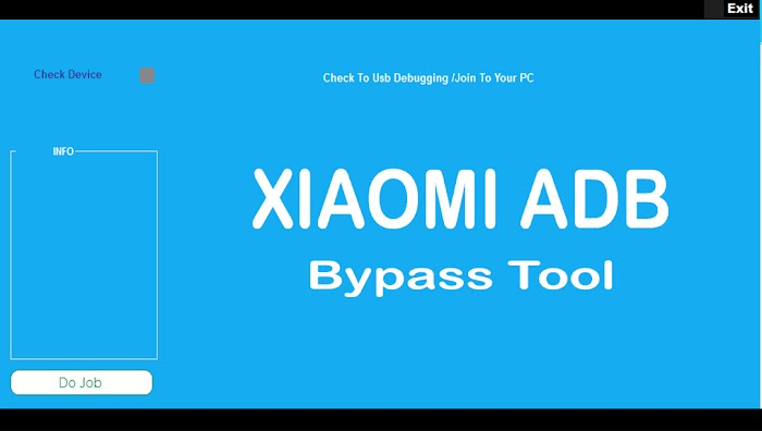 Xiaomi ADB Bypass Tool - Special For Bypass Mi Account