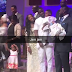 Cute! Tiwa Savage, Teebillz and their son pictured in church (Photos)