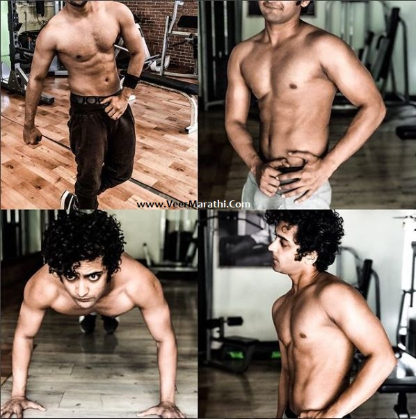 Sumedh Mudgalkar obsessed with fitness