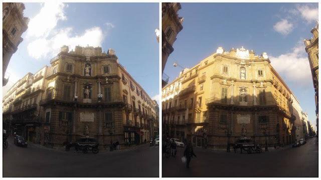 Quattro Canti, Piazza Vigliena, barroco siciliano, barroco palermo