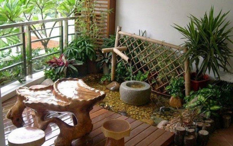 taman rumah kecil inspiratif