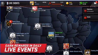 NBA LIVE Mobile Apk2