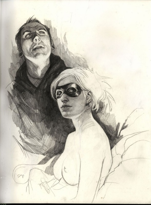 Рисунки Wesley Burt 19