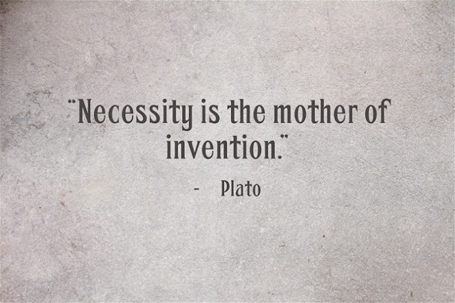 Plato the mother of invention quote