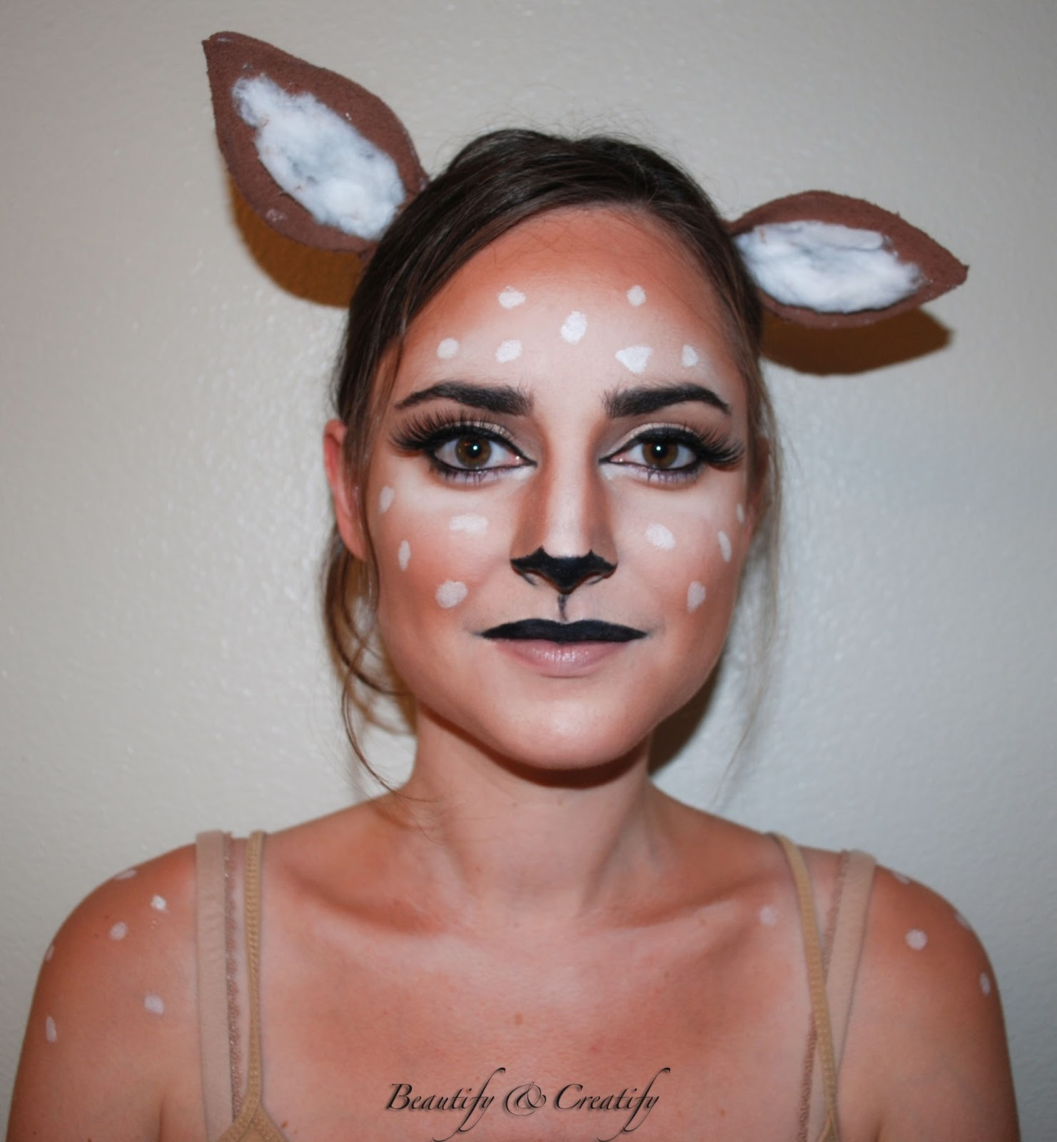 The third look is a Leopard look and you can turn it to tiger by simply changing the pattern spots youu0027d draw on your face. This look was inspired by this ...  sc 1 st  Beautify and Creatify & Beautify and Creatify: Easy Last Minute Halloween Costume Ideas