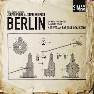 BERLIN, J.D. - Concertos, Sinfonias et al