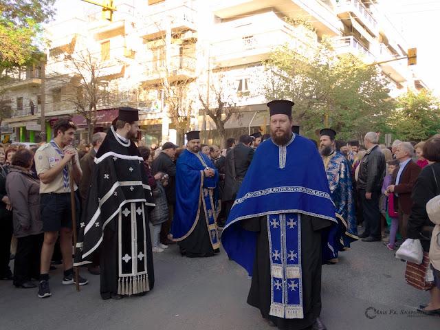 Στην Τούμπα η Τιμία Κάρα της Αγίας Βαρβάρας [βίντεο - φωτογραφίες]