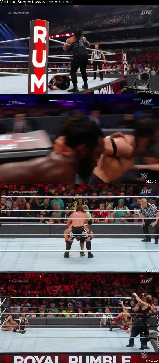 WWE Royal Rumble 2017 PPV 480p WEBRip