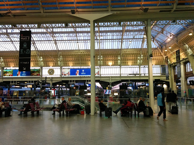 Paris Gare De Lyon Train Station