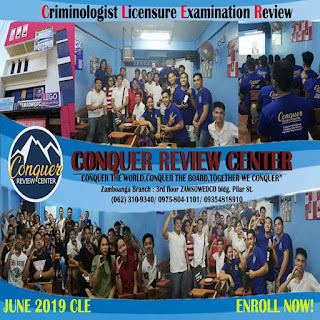 conquer review center