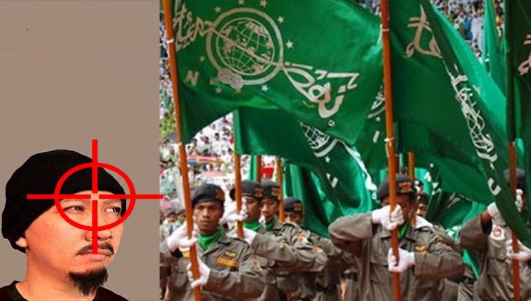 Banser lacak akun Abu Janda