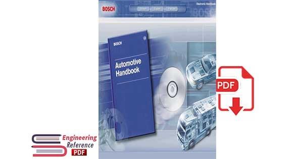 Bosch Automotive Handbook 1st Edition by Bosch in free pdf format