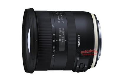 إقتراب الإعلان عن عدسة Tamron 10-24mm f/3.5-4.5 Di II VC HLD