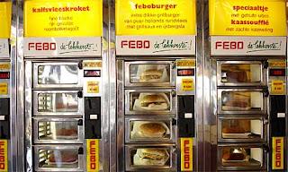 Cajero automático de comida, FEBO Amsterdam