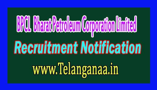 BPCL (Bharat Petroleum Corporation Limited) Recruitment Notifcation 2016
