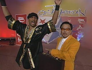 WCW Great American Bash 1999 - Ernest 'The Cat' Miller w/ Sonny Onoo