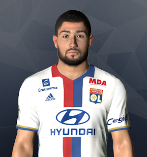 PES 2017 Faces Nabil Fekir by Ben Hossam FaceMaker