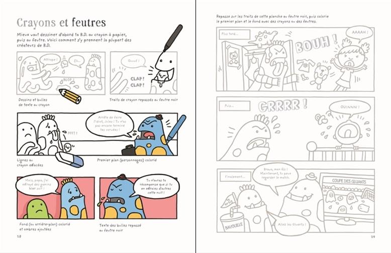 Je crée mes bandes dessinées - Usborne