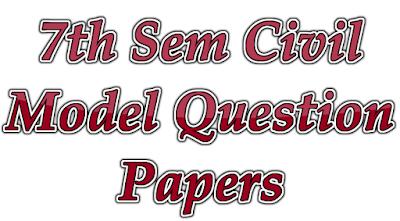 Civil Model Question Papers