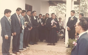 Photo Dokumentasi Peresmian GKPS Resort Jambi Tahun 1991