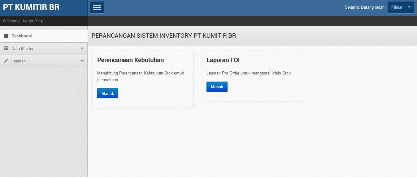 sekretaris - Aplikasi Inventory Barang Dengan Php Dan Mysql