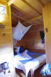 Les cabanes du Marodier, Vollore-Ville, la chambre