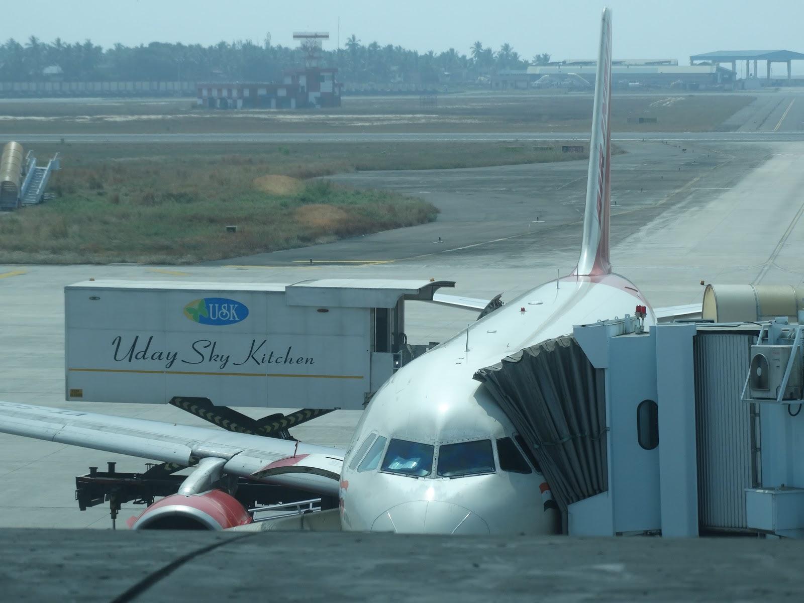 DP Travelz: Air India AI668 | Thiruvananthapuram - Mumbai | Airbus ...